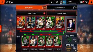 Grinding Live Events! | NBA LIVE MOBILE