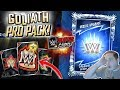 SURPRISE GOLIATH PRO PACK OPENING!! HEROIC MODE STRUGGLE! | WWE SuperCard