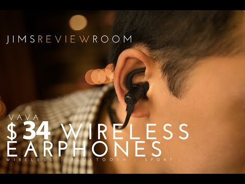 FINALLY! Good cheap WIRELESS Sport Earphones - VAVA Moov 28 - REVIEW