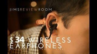 Video FINALLY! Good cheap WIRELESS Sport Earphones - VAVA Moov 28 - REVIEW download MP3, 3GP, MP4, WEBM, AVI, FLV Juli 2018