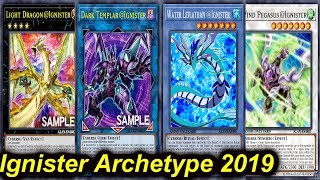 Gambar cover 【YGOPRO】@IGNISTER NEW ARCHETYPE DECK 2019