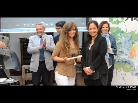 Córdoba en Azahar. Premios 2017. Premio especial a María del Pino.