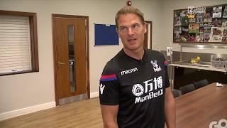 Frank de Boer leidt ons rond bij Crystal Palace