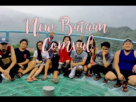 NEW BATAAN ,COMVAL PROVINCE BEST TOURIST SPOT (w/ Engineering studs)