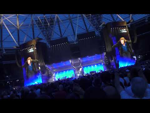 Rolling Stones -  Mick Jagger introducing the band, Live in London 22nd May 2018