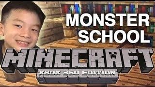 สร้าง Monster School ใน Minecraft XBOX360