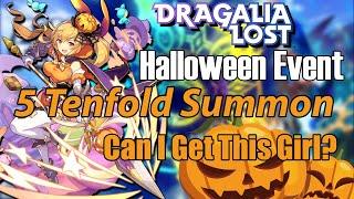 Dragalia Lost - Halloween Event Summons - 5 Tenfold Summons, Chasing Rainbow.