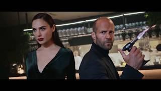 Джейсон Стэтхэм и Галь Гадот в рекламе wix.com