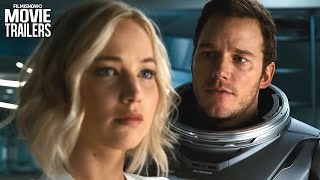 Jennifer Lawrence & Chris Pratt are PASSENGERS in outer space