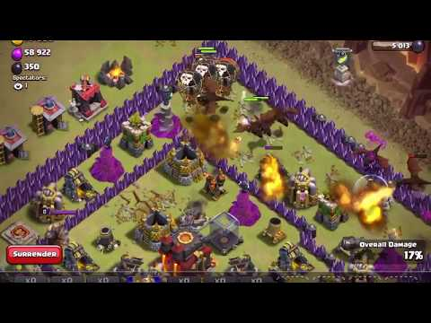 TH 9 LEVEL DESTROYS TH 10 IN WAR *MUST SEE* --CLASH OF CLANS (COC)