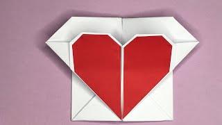 ♥♥♥ Liebesbrief in Herzform selber basteln | DIY Valentinstag Geschenkidee  ♥♥♥