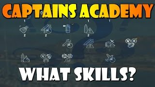 [0.4.0] World of Warships - Captain's Academy #14 - Captain's Skills [FIXED ERROR](Thank you viewers for pointing out my error in the previous video, I've fixed it and reuploaded it now :) ♥ Episode 14 of Captain's Academy deals with a question ..., 2015-06-30T15:47:25.000Z)