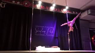 Kalvynn Faith Pole Dance Soul On Pole 2018 Story Telling Competition