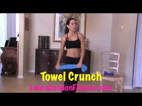 Sexy Standing Up Abs with Laura London