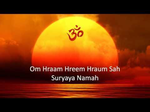 Surya Beej Mantra - Surya Mantra (Puranic)