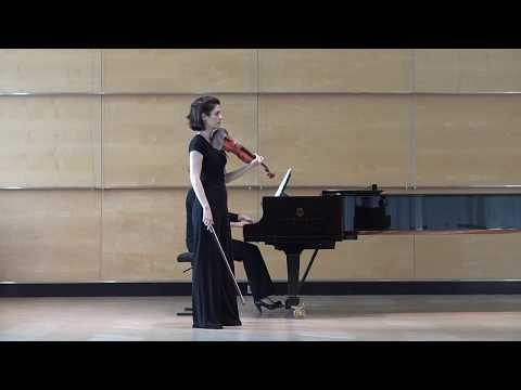 J. Sibelius: Violin Concerto (I. Allegro moderato) - Laura Delgado