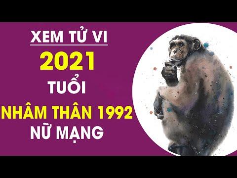 TỬ VI 2021 TUỔI NHÂM THÂN 1992 NỮ MẠNG | SỨC KHỎE DỒI DÀO CUỘC SỐNG NO ĐỦ Nếu Biết Điều Này