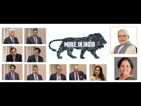 PM Shri Narendra Modi speech at the launch of the ''Make In India'' initiative.