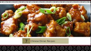 Chinese Dinner Recipes