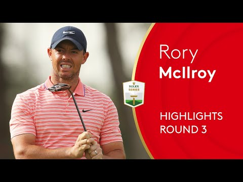 Rory McIlroy makes hole-out eagle to lead | Round 3 Highlights | 2021 Abu Dhabi HSBC Championship