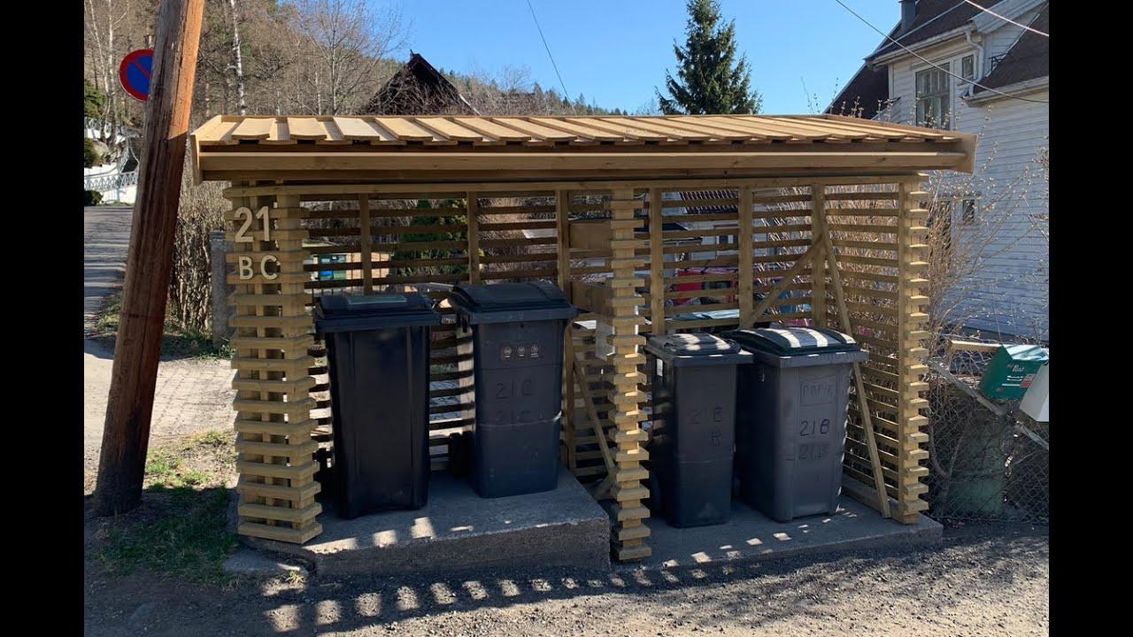 Søppelhus maxbo