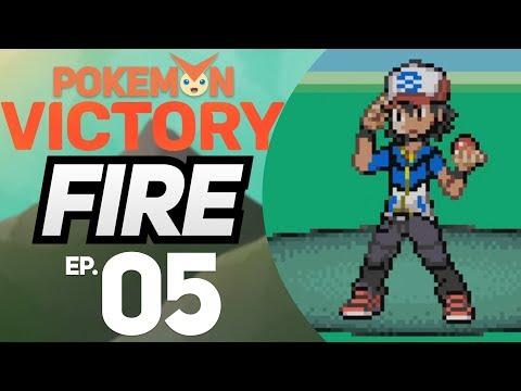 BATALHA CONTRA O ASH - Pokémon Victory Fire #5