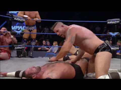 Lashley, Bram, Eli Drake & Tyrus vs. Magnus, El Patron, Morgan & Adonis   IMPACT April 13th, 2017