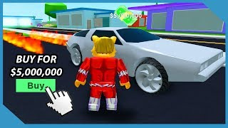 Buying the Thunderbird Car in Roblox Mad City ($5,000,000 Car)
