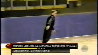 Piece on the First Quadruple Salchow Landed by Timothy Goebel (USA)
