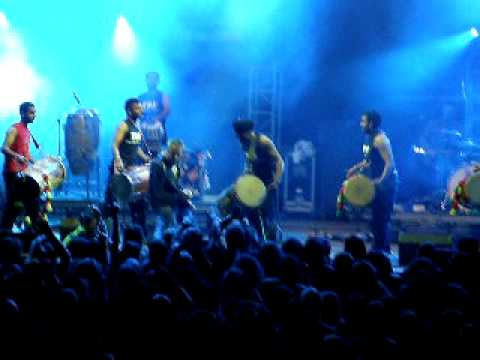 The dhol foundation - Live Trutnov, Czech Open Air festival
