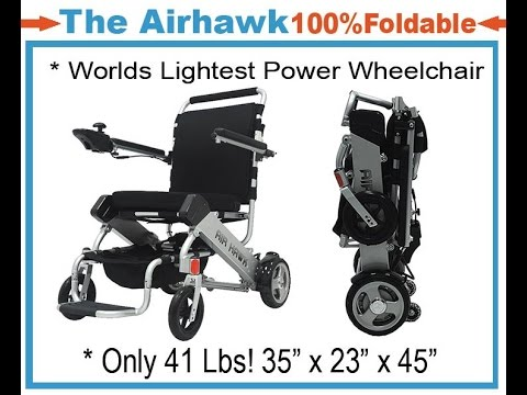 Should I Buy an AirHawk Folding Electric Wheelchair?