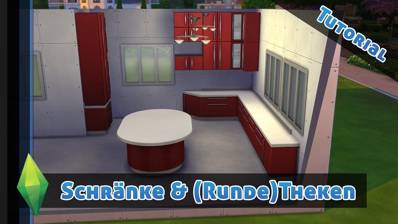 DIE SIMS 4 - Schrankmodule, Runde Theken - Sims 4 Tutorial - YouTube
