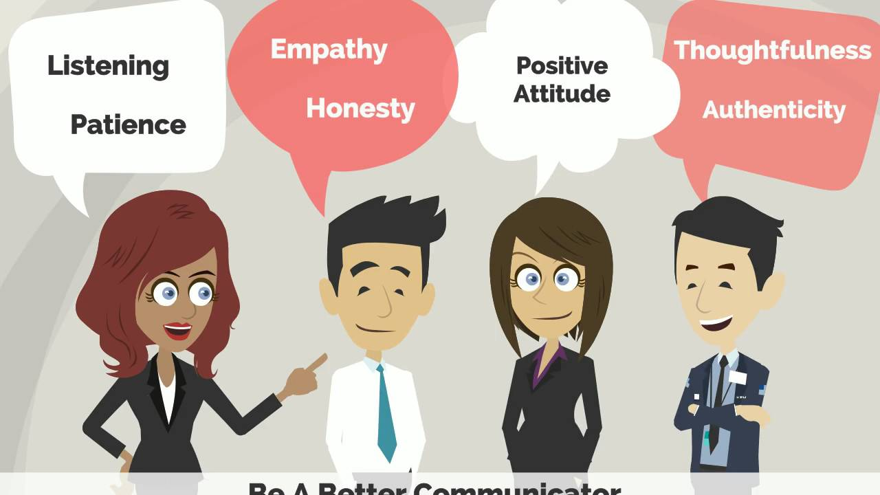 How to be a good listener - YouTube