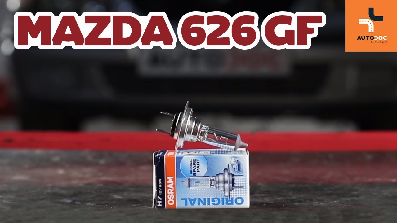 wie mazda 626 gf scheinwerfer lampe wechseln tutorial | autodoc