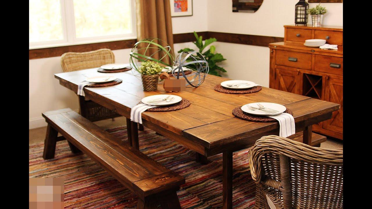 faux barn board coffee tables ikea hack - youtube