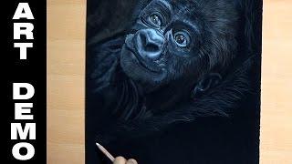 Baby Gorilla Speed Paint Demo