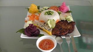 Vietnamese Pork Chop Rice Dish | Cơm Sừơn Chả Trứng