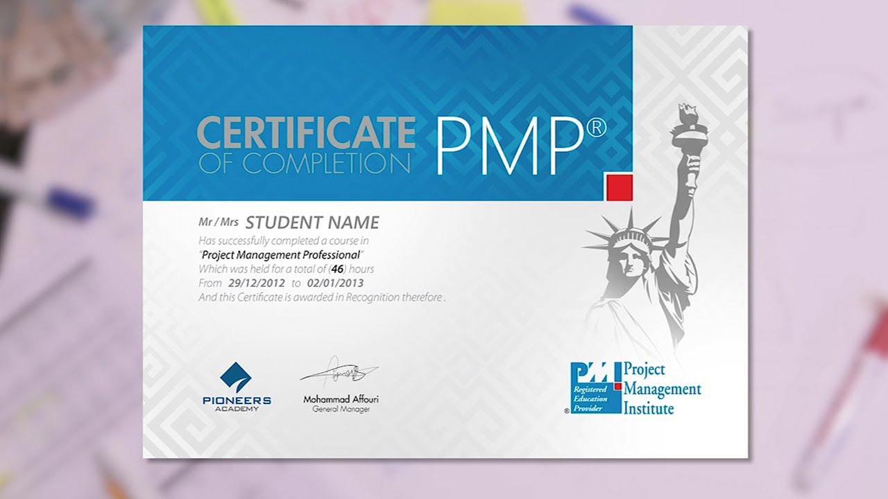 Project Management Professional Pmp Youtube