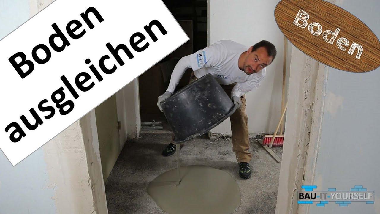 Fußboden Mit Beton Ausgleichen ~ Bodenausgleichsmasse anleitung boden ausgleichen