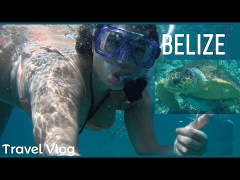San Pedro & Caye Caulker, Belize - Solo Female Travel Vlog