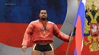 WWE 2K16 : Rusev Entrance & Wrestlemania 31 Arena