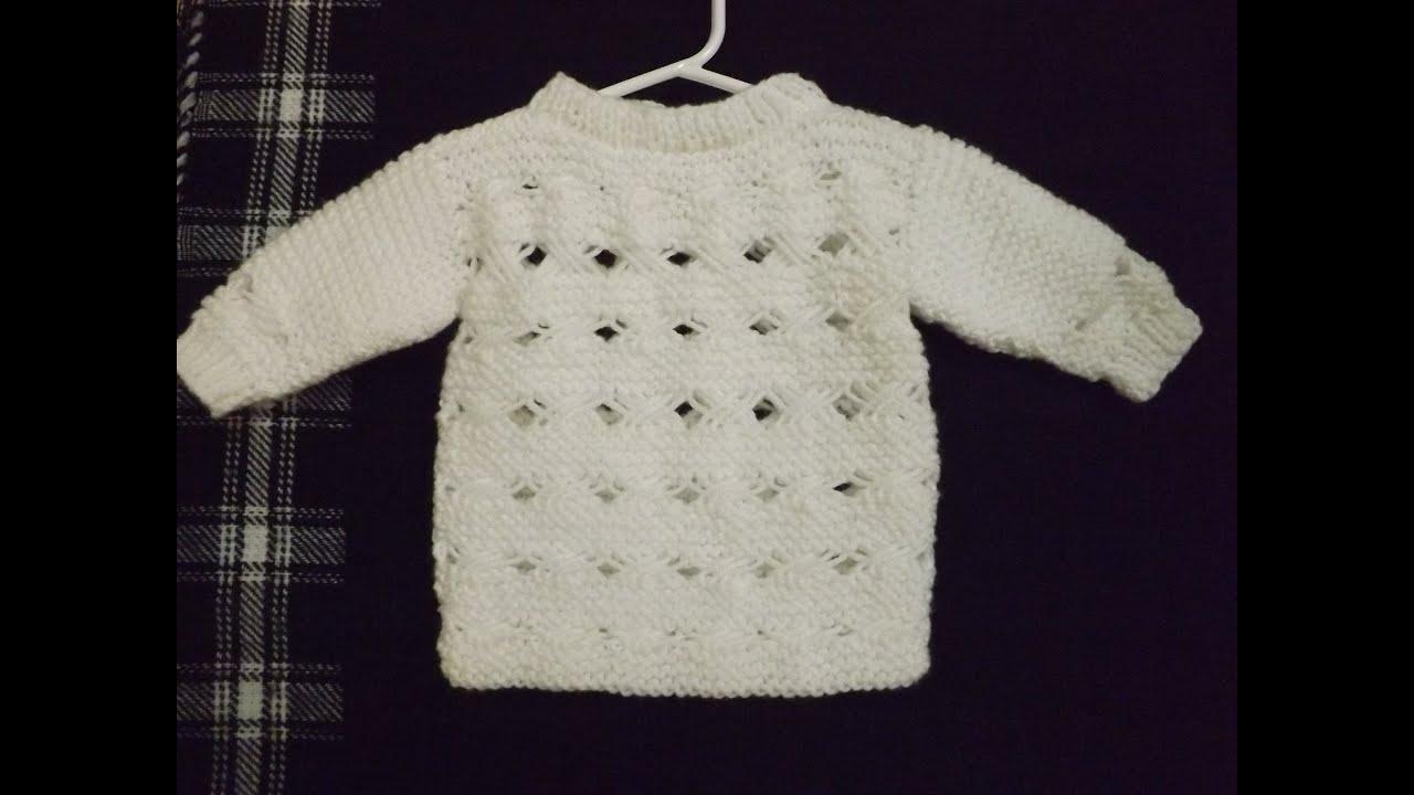 Como Tejer Suéter Con Punto Cruzado Parte 2 de 2 - con Ruby Stedman ...