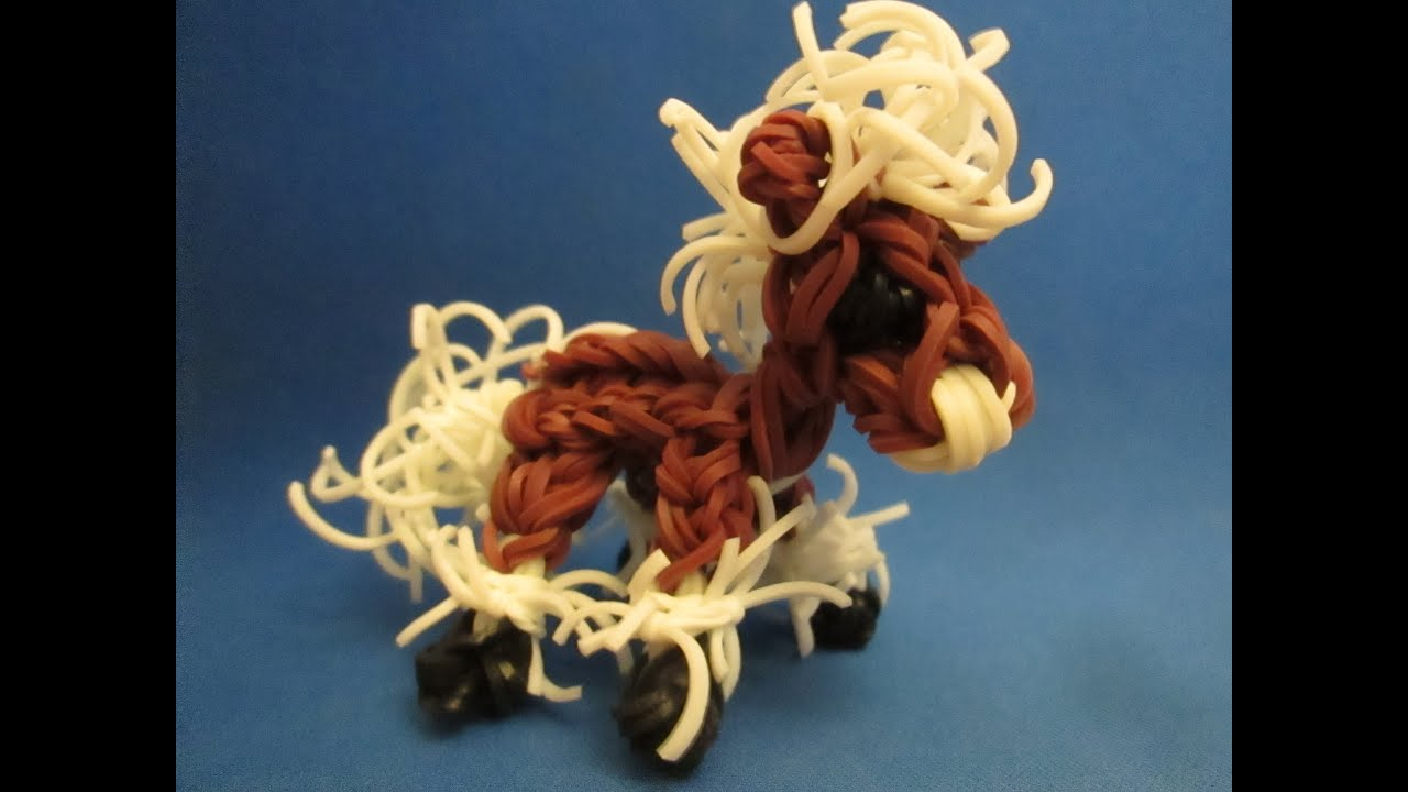 rainbow loom horse and pony baby clydesdale charm youtube. Black Bedroom Furniture Sets. Home Design Ideas