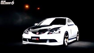 GT6 2004 Integra Type R DC5 1/4mile drag tune