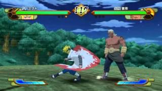 Naruto Shippuden: Gekitou Ninja Taisen Special (WII) gameplay - GogetaSuperx