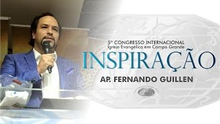 Enchendo as Taças - Ap. Fernando Guillen - 17h - IECG
