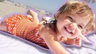 MALIBU BABY BEACH DAY   SPRING BREAK FUN
