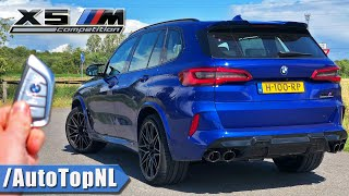BMW X5M Competition REVIEW on AUTOBAHN [NO SPEED LIMIT] by AutoTopNL