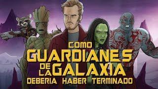 Como Guardianes de la Galaxia Debería Haber Terminado
