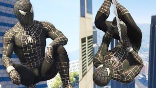 SİYAH ÖRÜMCEK ADAM!! - GTA 5 (Spiderman Modu)